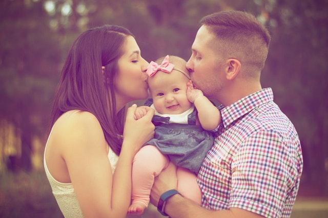 Forældre og barn